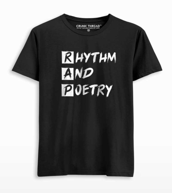 Rap rhythm and poetry T-shirt