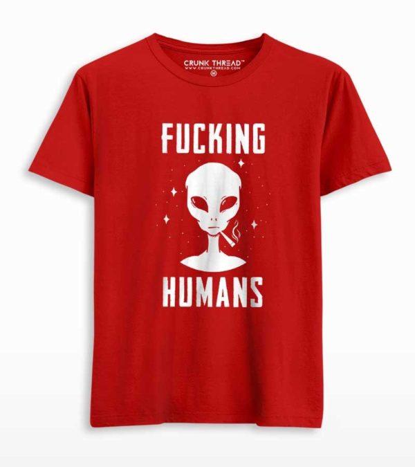 Fucking Humans T-shirt